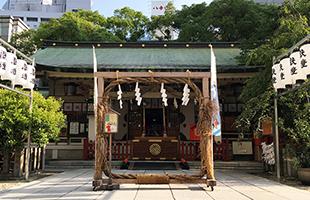 ◆露天神社参り
